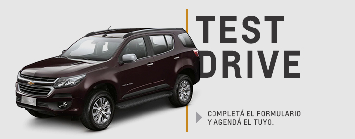 Test Drive Chevrolet Trailblazer en Tolosa