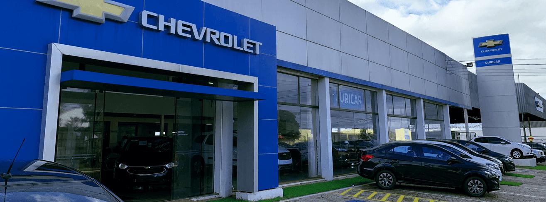 Venda e ofertas de carros novos e seminovos na concessionária Chevrolet Ouricar. Peças genuínas GM, acessórios automotivos originais e serviços de manutenção e revisão de veículos.