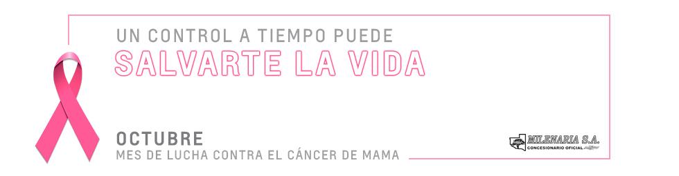 Lucha contra el cáncer de mama - Concesionario Oficial Chevrolet Milenaria