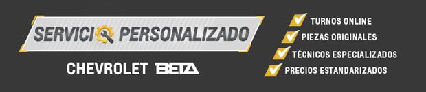 Servicio Personalizado Chevrolet en Beta Automotores