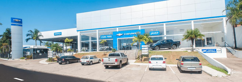 Venda e ofertas de carros novos e seminovos na concessionária Chevrolet Javep em Marília. Peças genuínas GM, acessórios automotivos originais e serviços de manutenção e revisão de veículos.