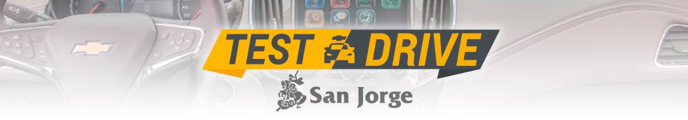 Chevrolet Test Drive - Automóviles San Jorge
