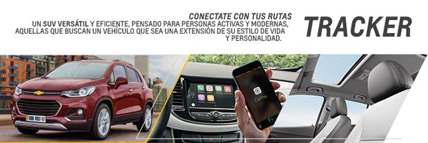 Test Drive Chevrolet Tracker en Automóviles San Jorge