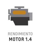 Motor 1.4 litros del nuevo Chevrolet Joy Plus