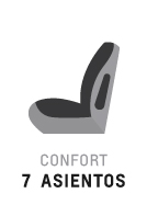7 asientos - Confort de Traiblazer