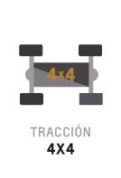 Tracción 4x4 de Trailblazer