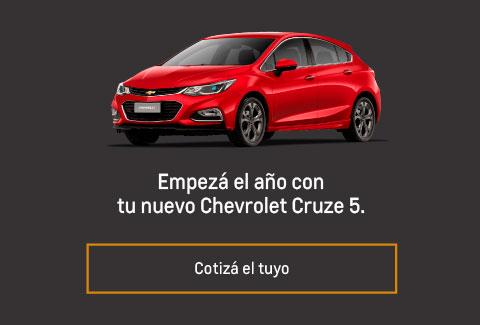Precio Chevrolet Cruze 5