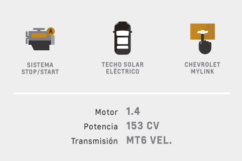 Caracteristicas de Chevrolet Cruze 5