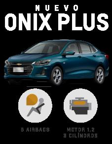 Chevrolet Onix Plus 1.2