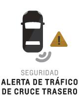 Alerta de tráfico de cruce trasero