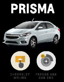 Beneficios que suenan bien Chevrolet Prisma