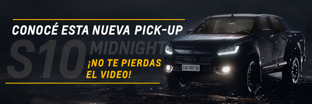 Nueva Chevrolet S10 Midnight