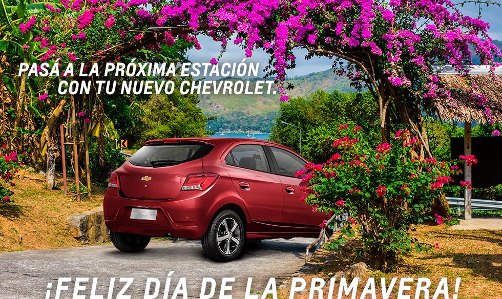 Feliz Primavera - Chevrolet Deliauto