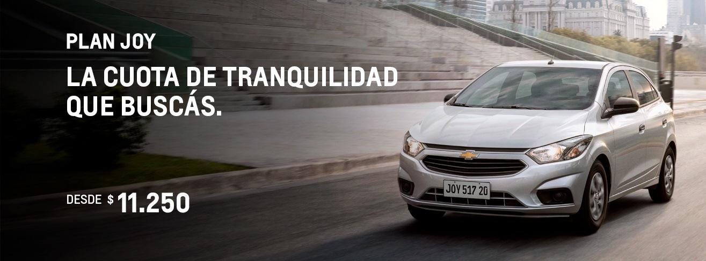 Cuota Plan Chevrolet Nuevo Joy