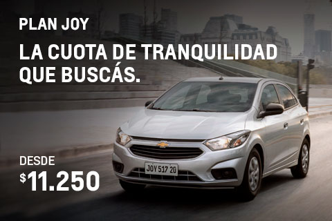 Plan Chevrolet Joy
