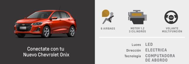 Caracteristicas de Nuevo Chevrolet Onix