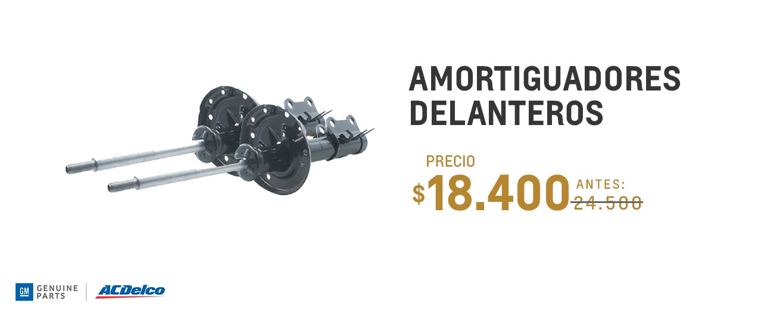 Amortiguadores delanteros para Chevrolet S10