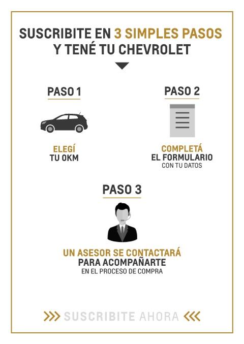 Suscripción a Plan Chevrolet