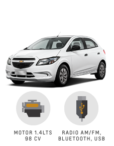 Beneficios que suenan bien Chevrolet Onix Joy
