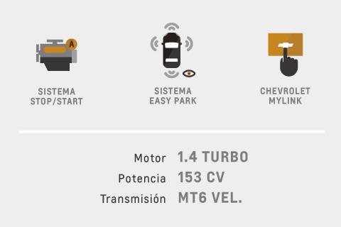 Caracteristicas de Chevrolet Cruze