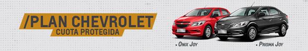 Plan Chevrolet Cuota Protegida 2019