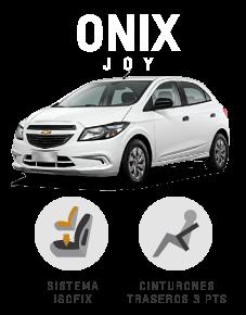 Beneficios que suenan bien Chevrolet Onix Joy
