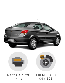 Beneficios que suenan bien Chevrolet Prisma Joy