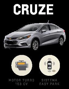 Beneficios que suenan bien Chevrolet Cruze
