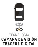 Cámara de visión trasera