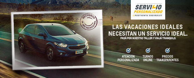 Servicio Chevrolet Vacacional