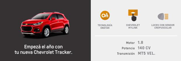 Caracteristicas de Chevrolet Tracker
