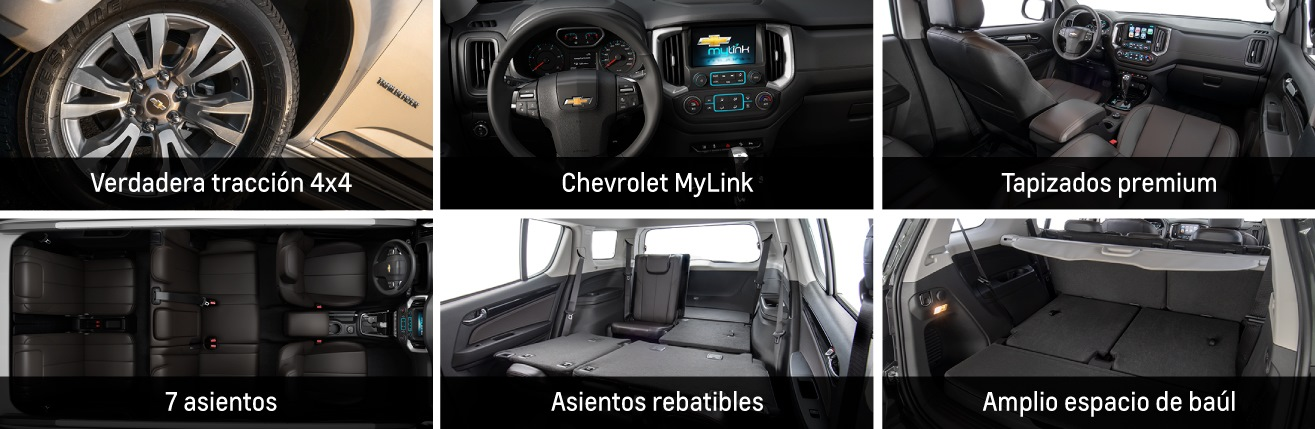 Interior de Trailblazer