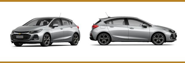Nuevo Chevrolet Cruze 5 - frente y laterales