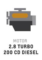 Motor de S10 de 2.8 litros