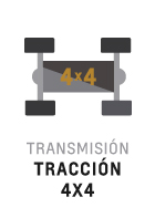 Tracción 4x4 de S10 Cabina Simple