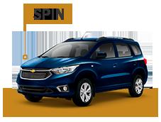 Accesorios Chevrolet Spin