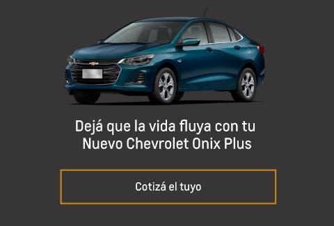 Cotizar Nuevo Chevrolet Onix Plus