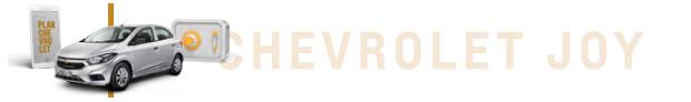 Modelos Plan Chevrolet Primer 0km: Nuevo Joy