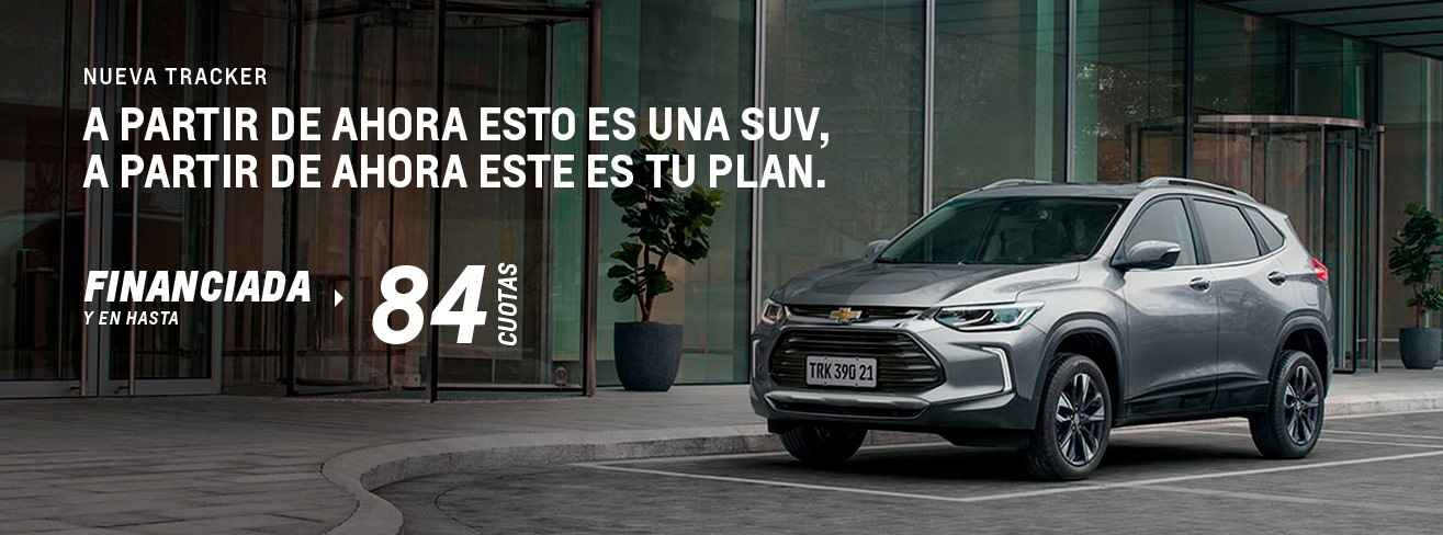 Plan Chevrolet Tracker