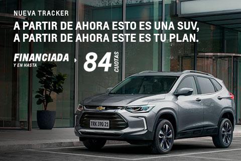 Plan Chevrolet Tracker