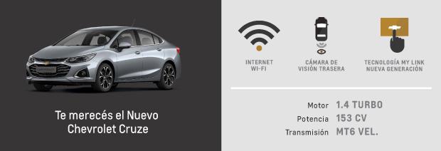 Caracteristicas de Nuevo Chevrolet Cruze