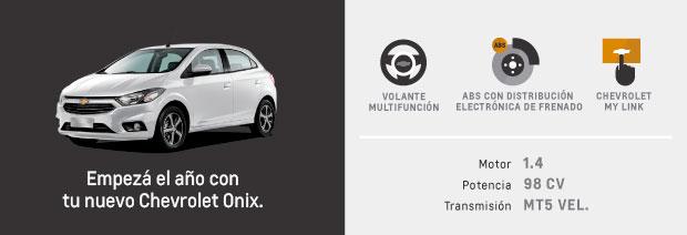 Caracteristicas de Chevrolet Onix