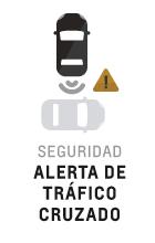 Alerta de tráfico cruzado de Equinox