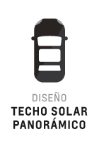 Techo solar panorámico de Equinox