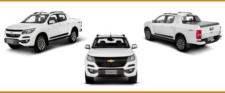 Chevrolet S10 frente y laterales