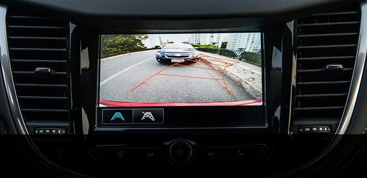 Camara de vision trasera de Tracker