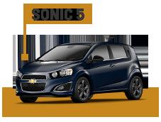 Accesorios Chevrolet Sonic