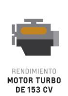Motor turbo 153cv