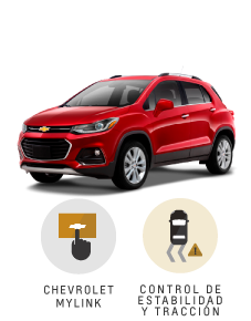 Beneficios que suenan bien Chevrolet Tracker