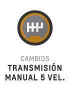 Transmisión manual de 5 velocidades del Nuevo Chevrolet Joy